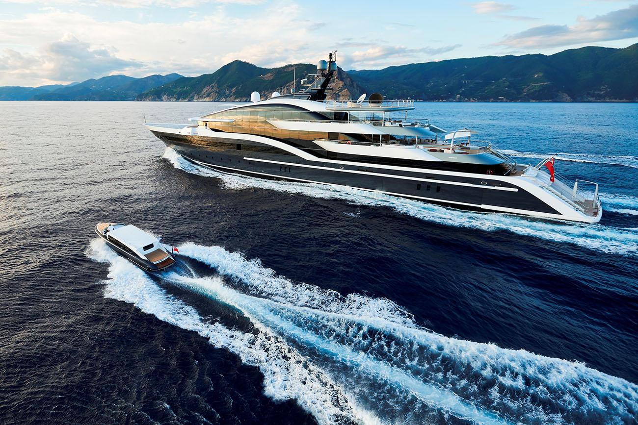 Oceanco Yacht - 90M Dar