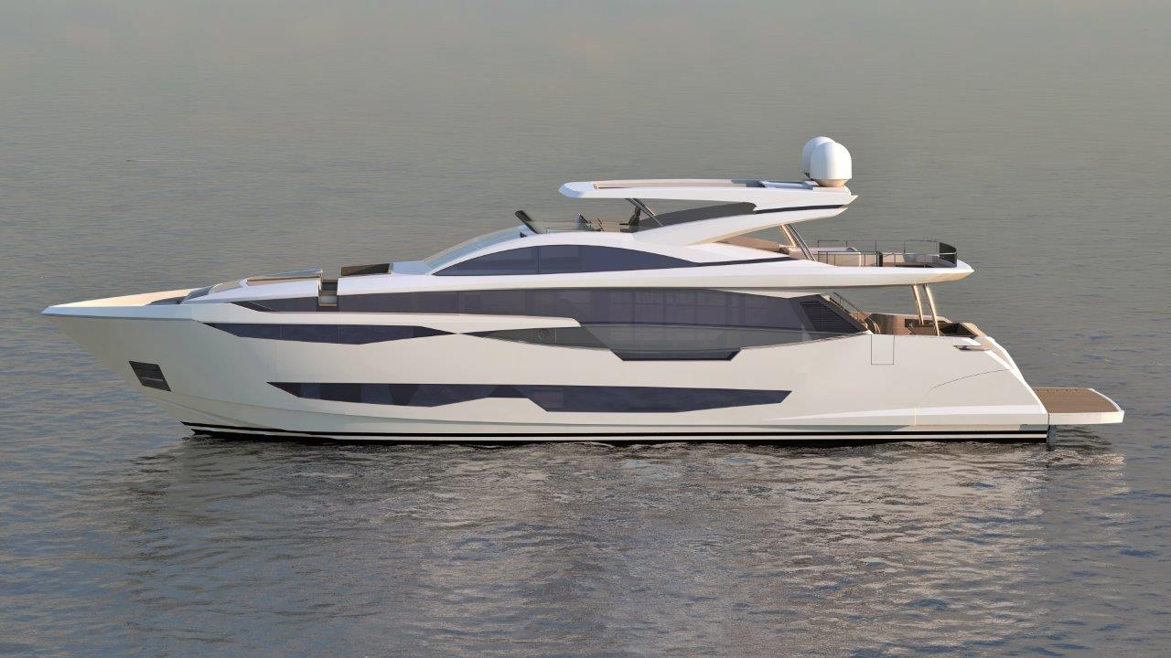 Pearl Yacht 95 - Profile