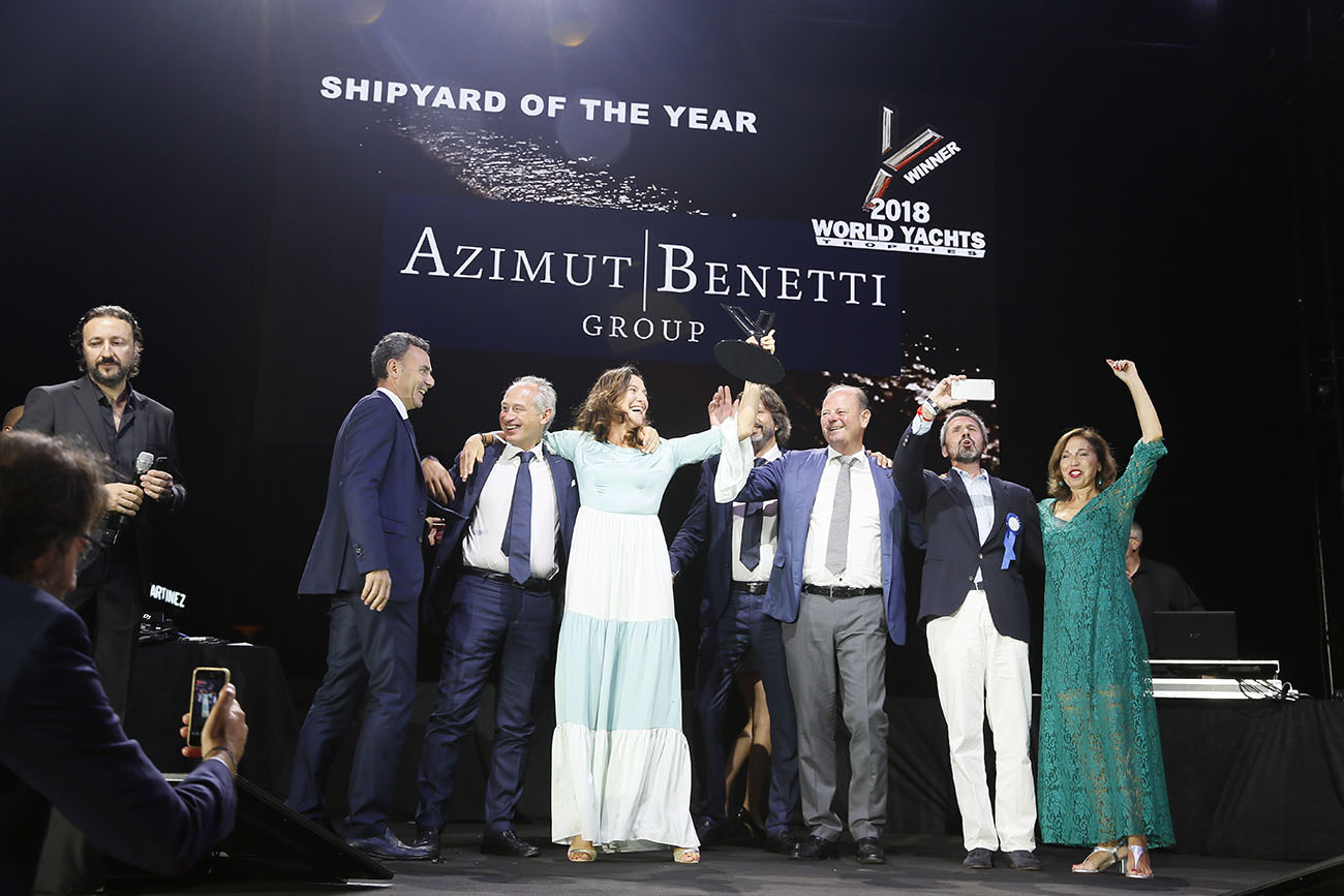 Azimut Benetti - Award Shipyard of the year