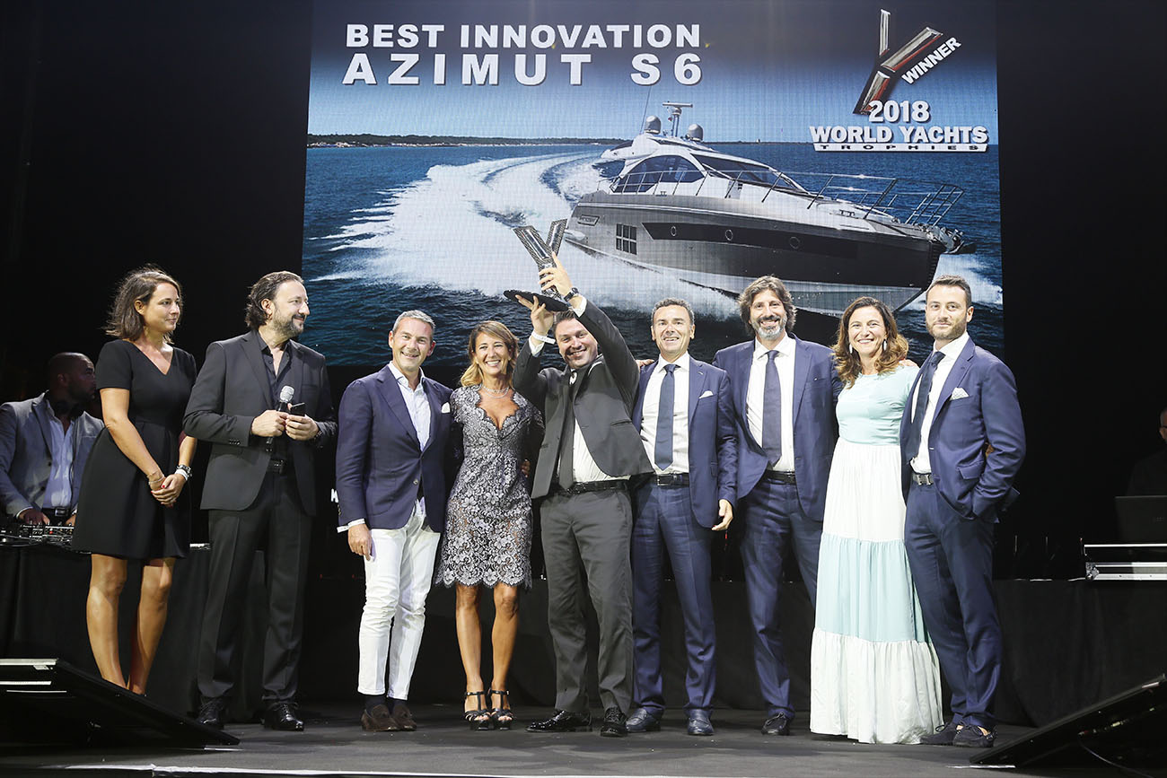 Azimut Yachts - S6 Best Innovation