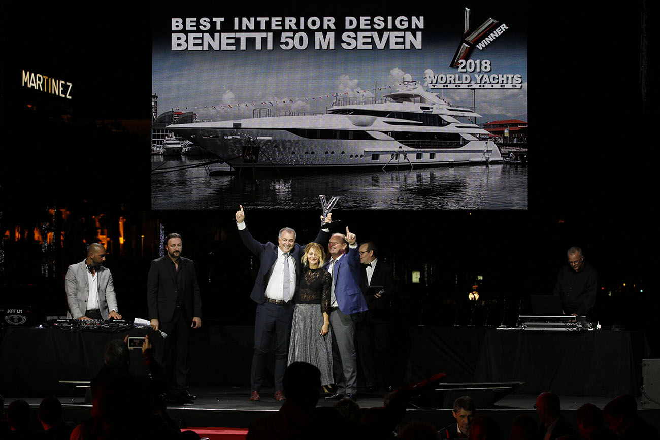 Benetti Seven - Best Interior Design
