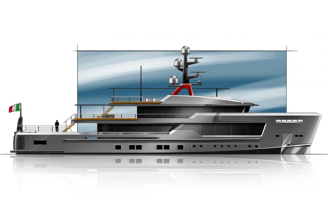 AlfaRosso, The New Explorer Yacht