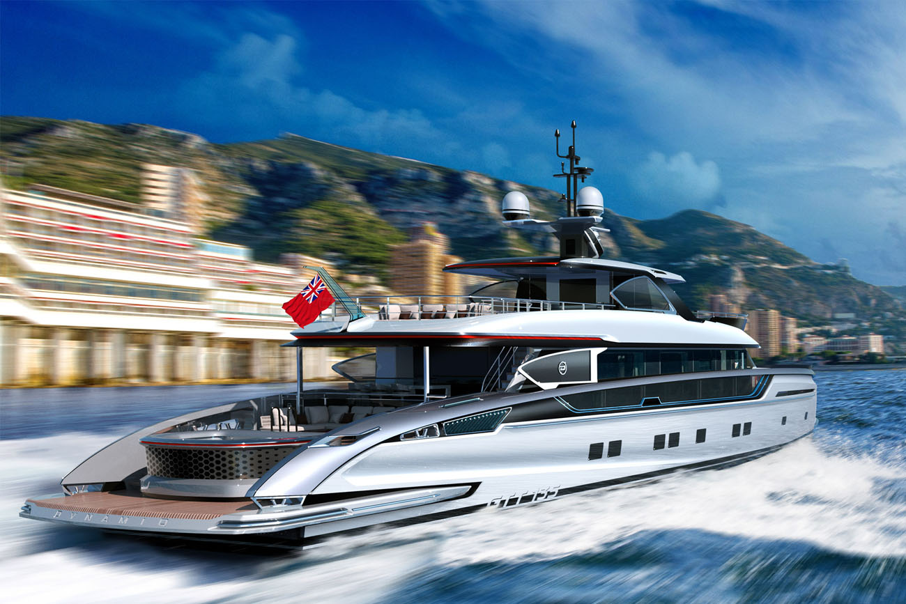 Dynamiq Yacht GTT 135