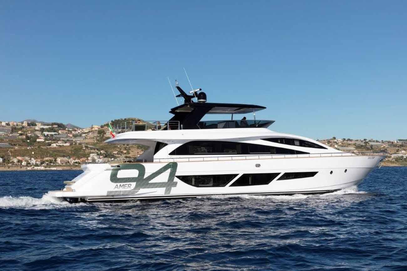 Amer Yacht 94 Superleggera