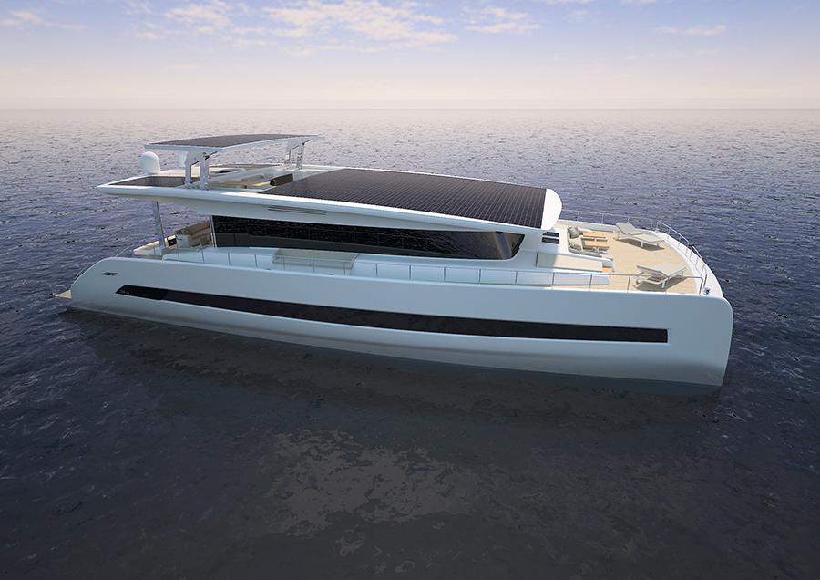 Silent Yacht 79 catamaran