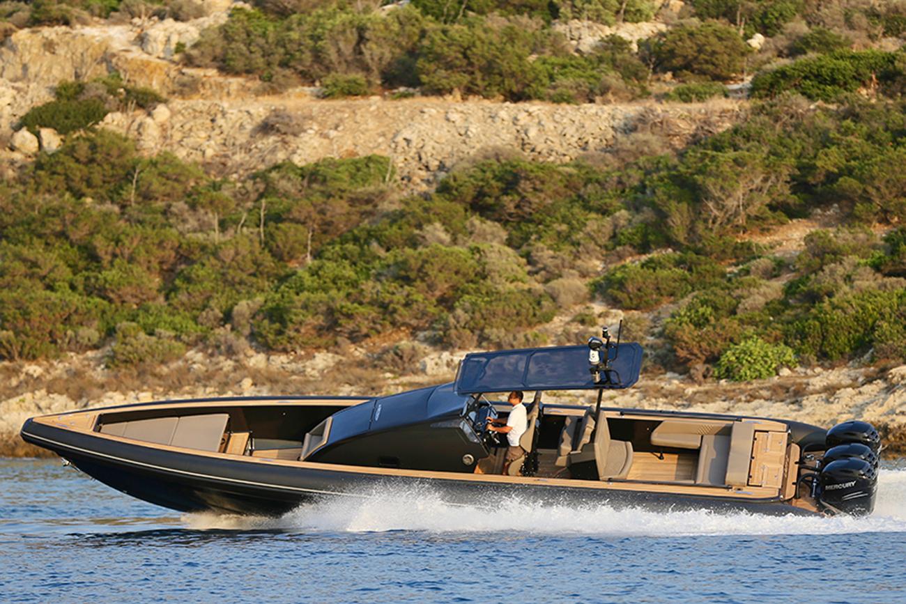 Technohull Boat - Omega 45