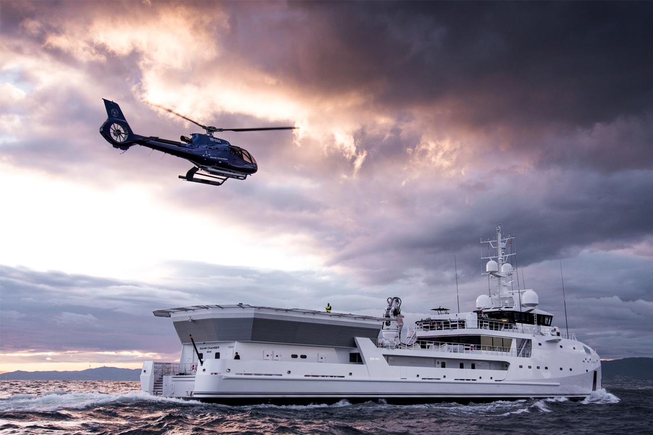 DAMEN Yacht Support GAME CHANGER