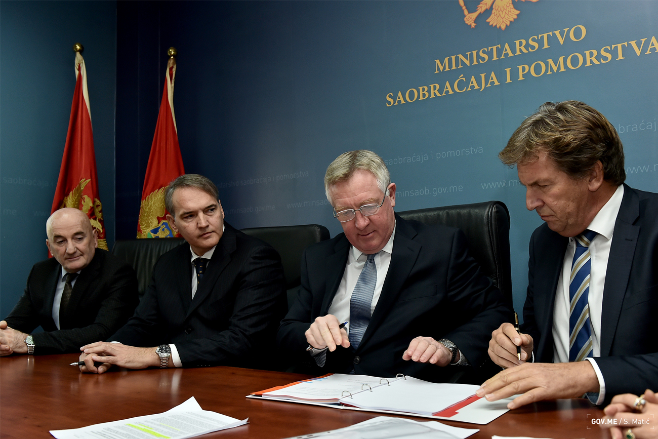 Bijela Shipyard Signing Contract in Montenegro