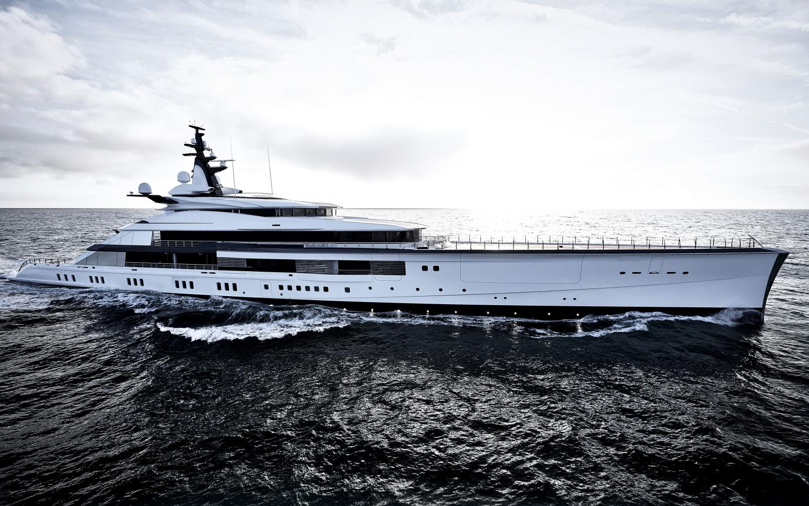 Oceanco Yacht - Project Bravo