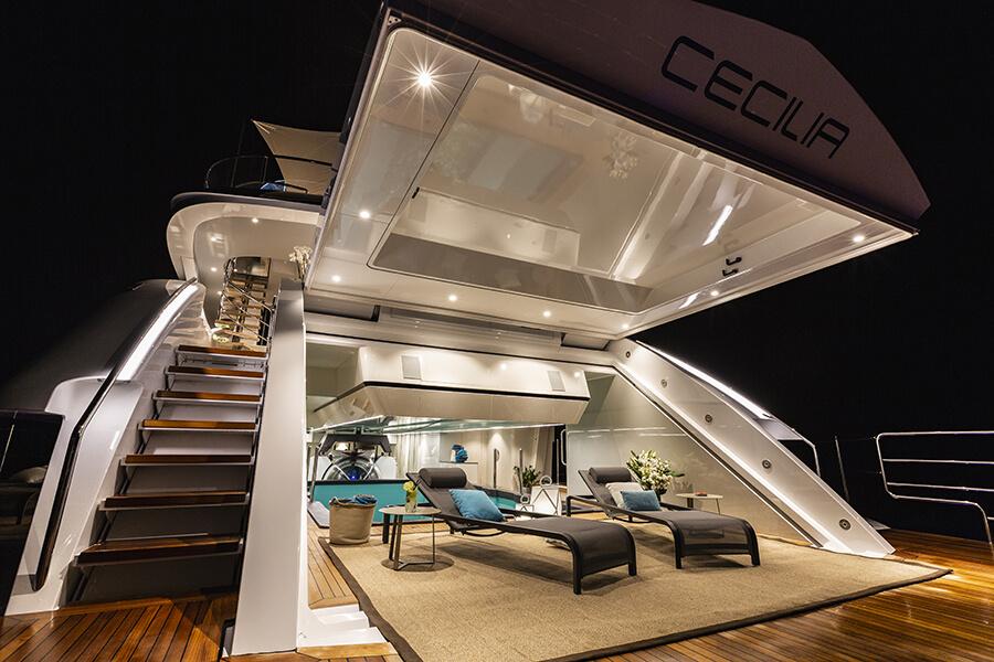 Wider Cecilia Yacht