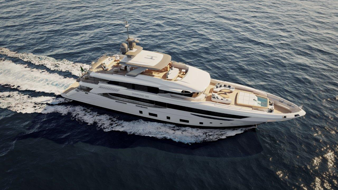 Benetti Yacht - Diamond 145