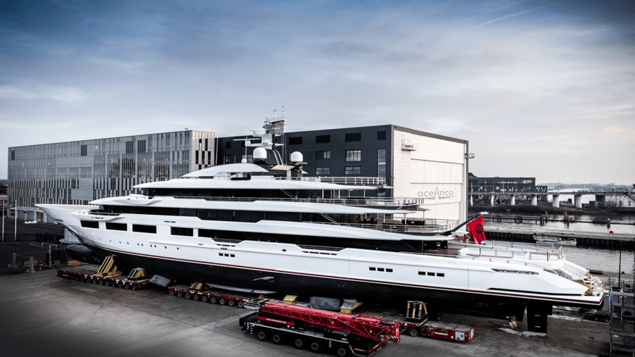 Oceanco Superyacht 90M - Dreamboat