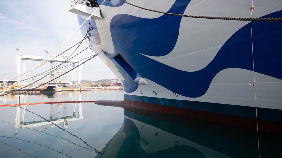 Fincantieri Princess Cruise Ship
