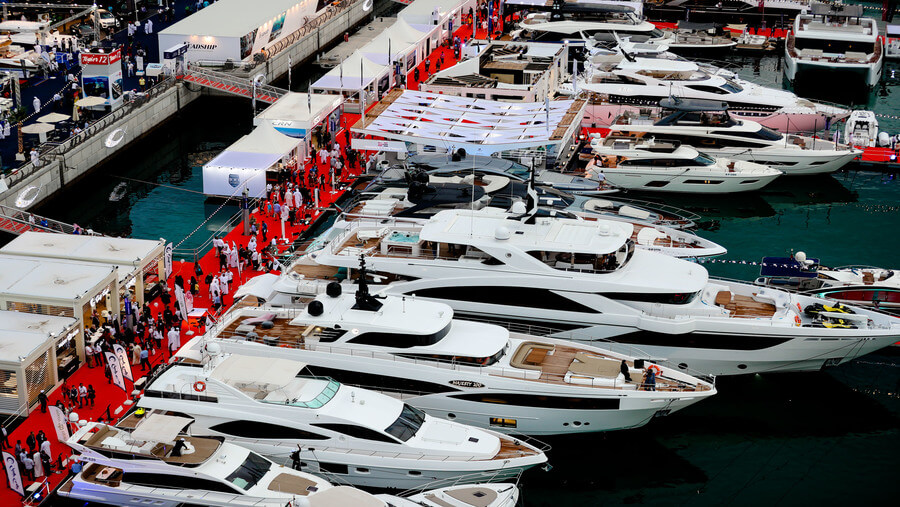 Phoenician Boat - Dubai International Boat Show 2018