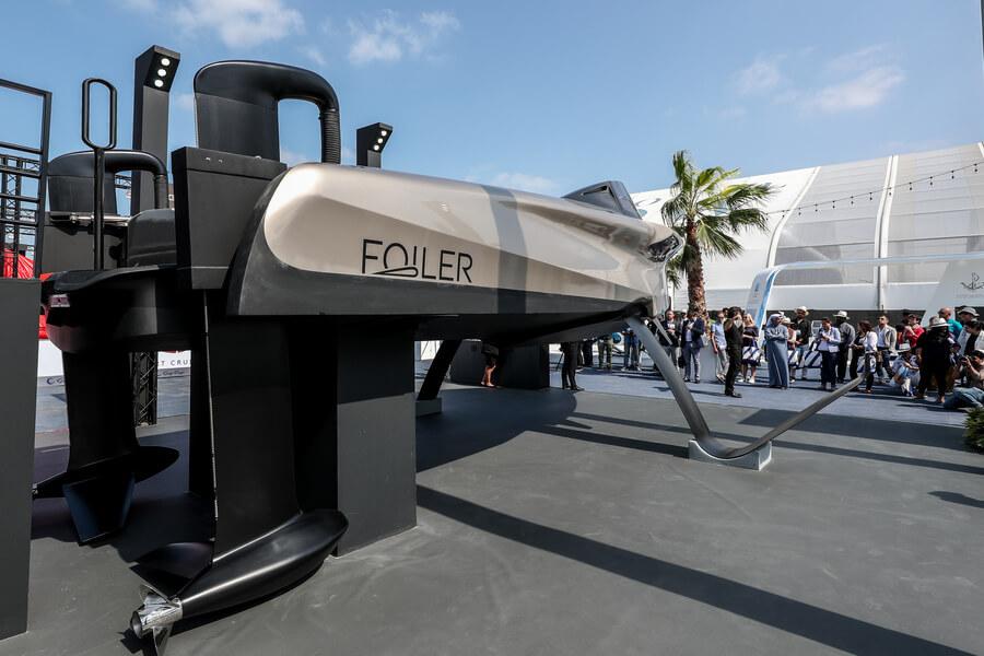 Phoenician Boat - Dubai Boat Show - Foiler Boat
