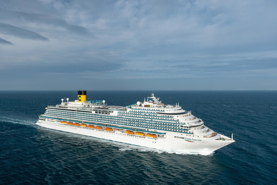 Phoenician Boat - FINCANTIERI Costa Venezia delivered
