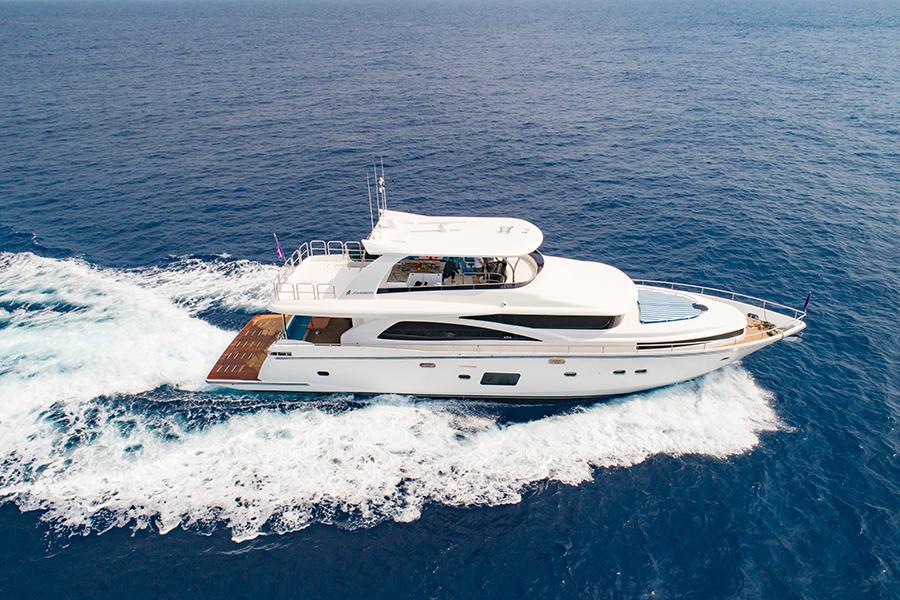 Phoenician Boat - Johnson 80