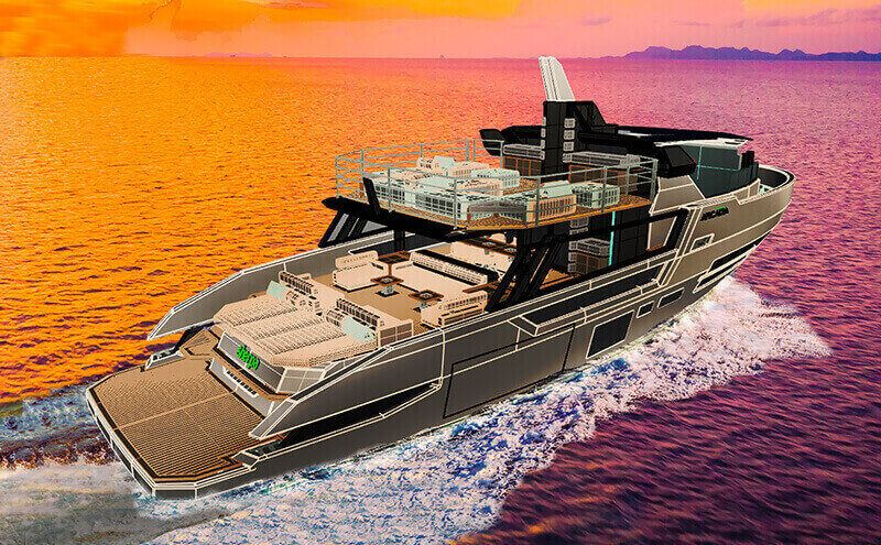 Arcadia Yacht - Sherpa XL