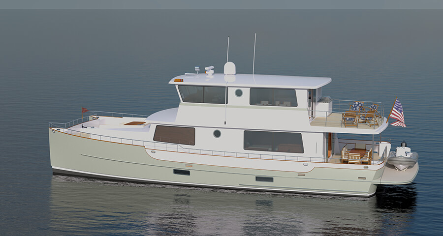 Zurn Yacht Catamaran - Powercat 60