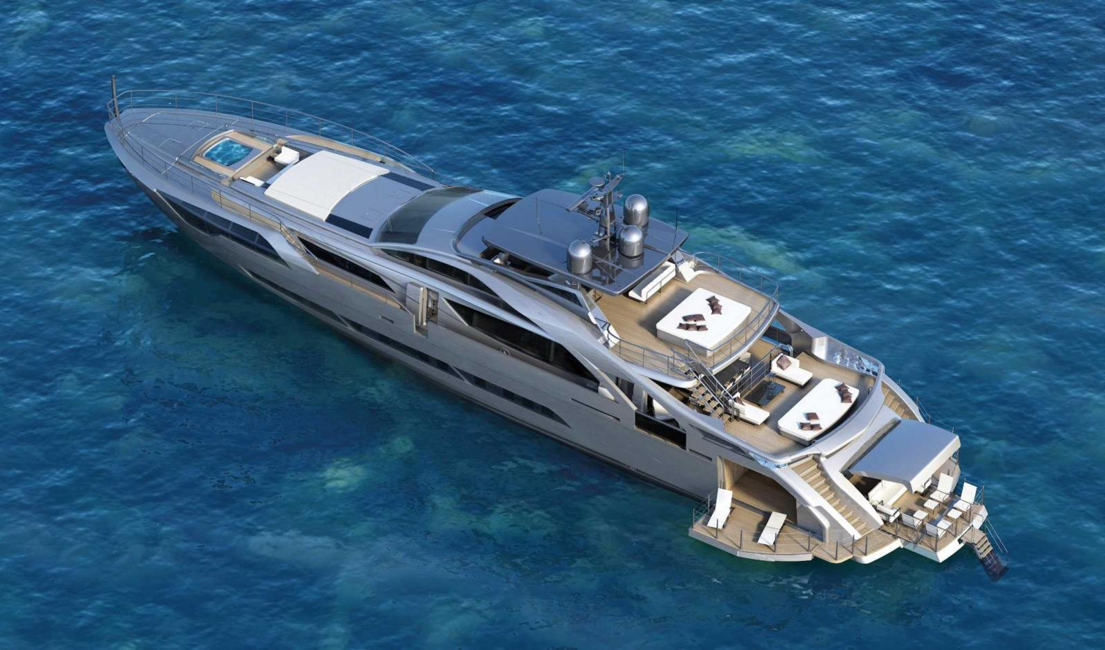 Pershing Yacht 140