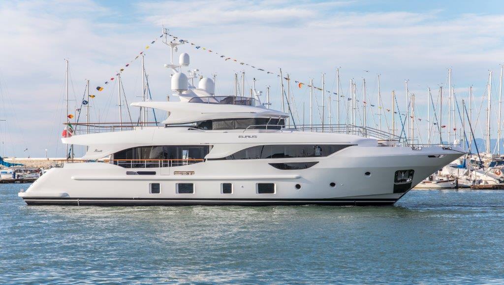 Benetti Yacht Delfino 95 Eurus