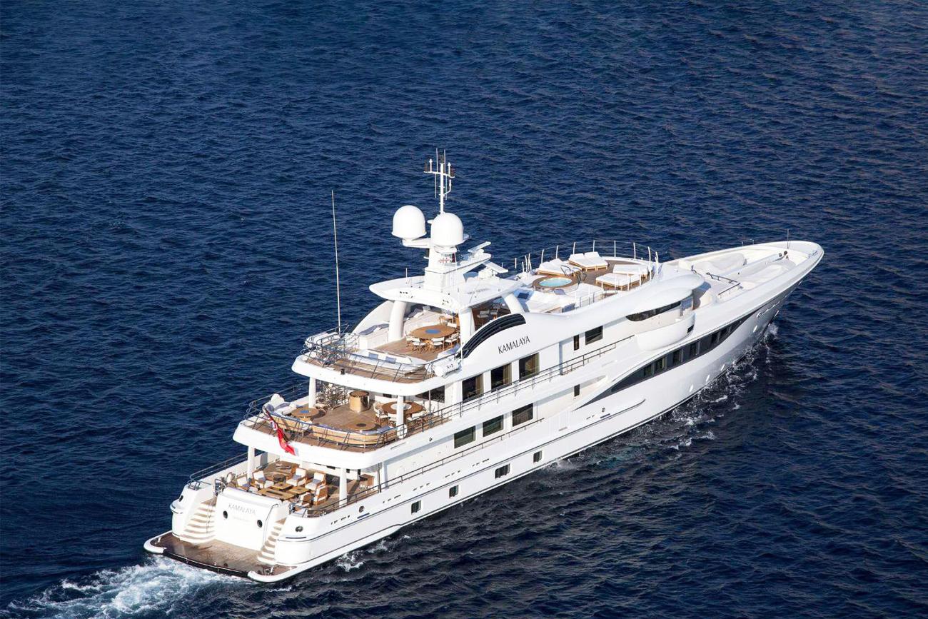 Amels Holland Yacht Kamalaya