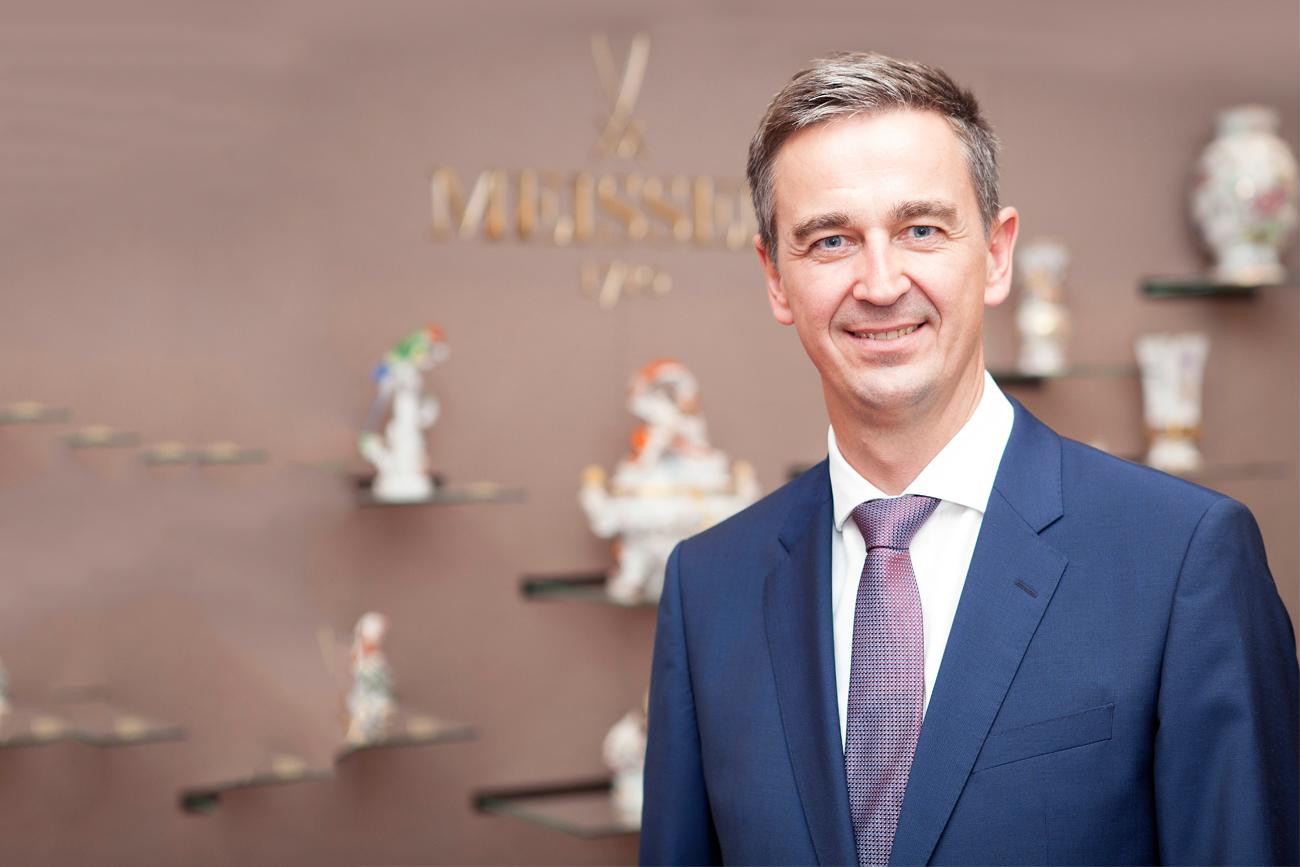 Georg Nussdorfer CEO Meissen