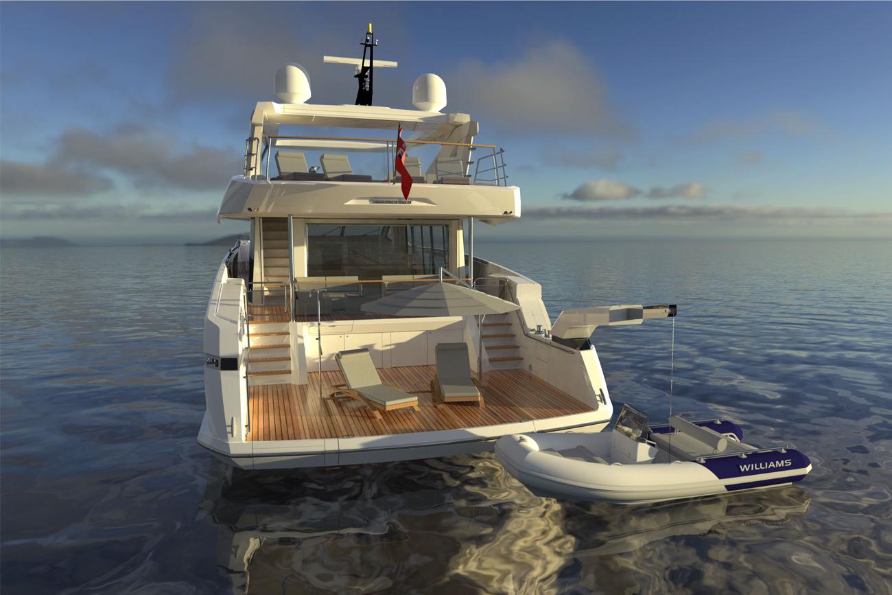 Sunseeker Yacht Project 8X