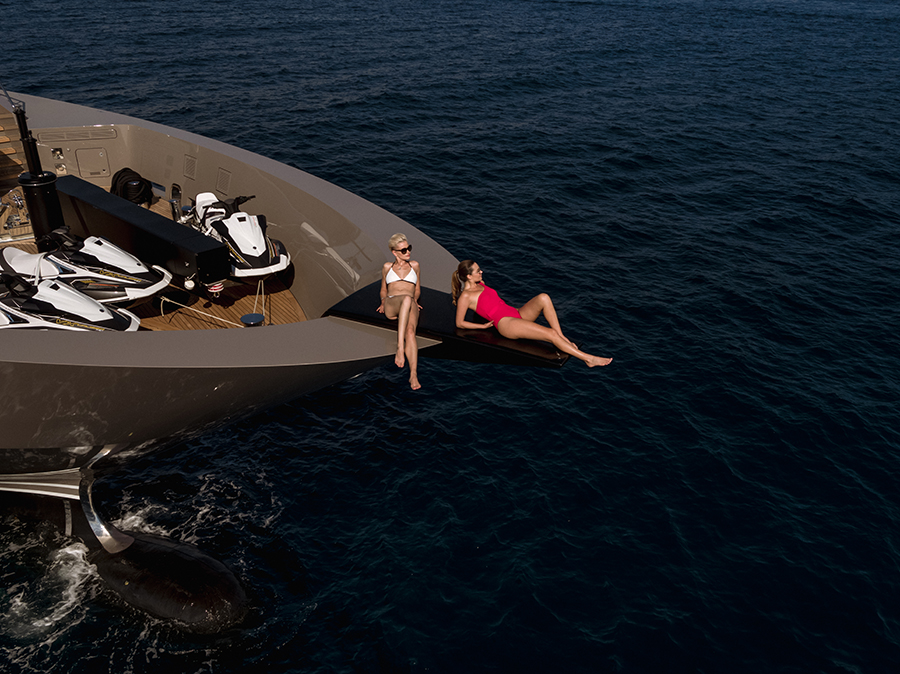 Tankoa Yacht S701 Megayacht Solo