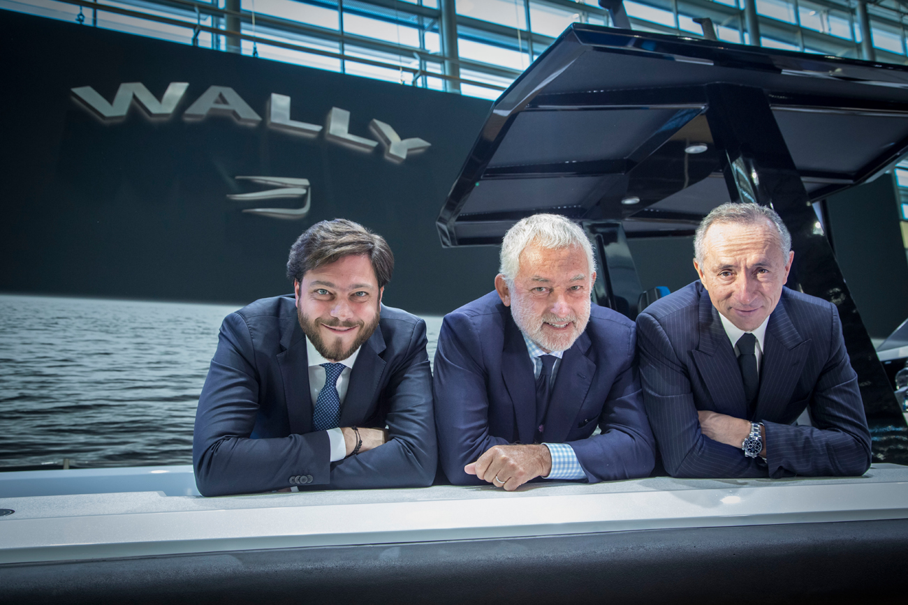 Ferretti Group CEO, Luca Bassani – Wally founder, Stefano de Vivo – Ferretti Group CCO