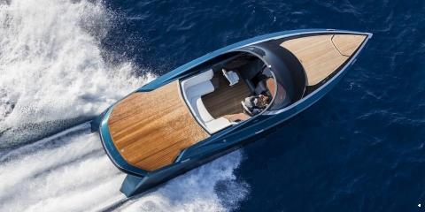 Aston Martin Powerboat Makes Powerful and Elegant Debut at the Monaco Yacht Show - اليخوت الأخبار