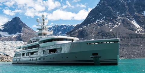The Explorer Yacht Designed to Take on the world - اليخوت الأخبار