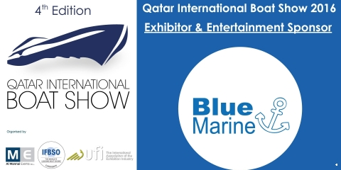 QIBS 2016 Announce Blue Marine Exhibitor & Entertainment Sponsor for the Fourth Edition - اليخوت الأخبار