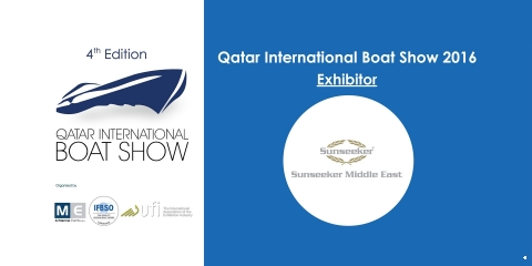 QIBS 2016 Announce Sunseeker Middle East Exhibitor for the Fourth Edition - اليخوت الأخبار
