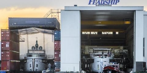 Feadship launches Lagoon Cruiser hulls 4 and 5 - اليخوت الأخبار