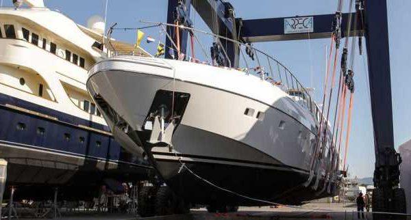 Second Mangusta 132 Yacht Launched by Overmarine - اليخوت الأخبار