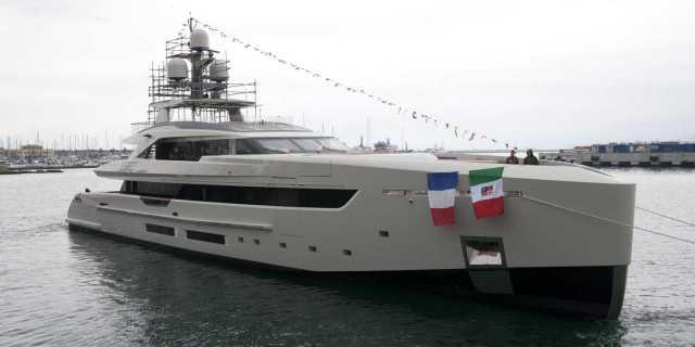 First Tankoa S501 Yacht Launched and Named Vertige - اليخوت الأخبار