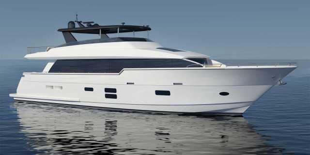 First Hatteras 90 Motor Yacht Under Construction - اليخوت الأخبار