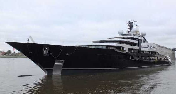 Lürssen Launches Top 100 Superyacht Project Thunder - اليخوت الأخبار