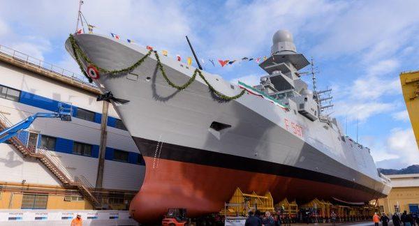 إطلاق السفينة الحربية أنطونيو مارسيغليا الثامنة المتعدّدة الوظائف - اليخوت الأخبار