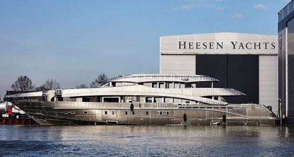 هيسين لليخوت: مشروع أستر الجديد تم جمع الهيكل والبنية الفوقية معاً الآن - اليخوت الأخبار
