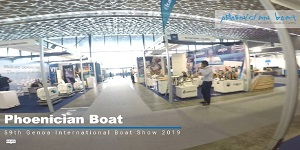 Exclusive by Phoenician boat at Genoa International boat show