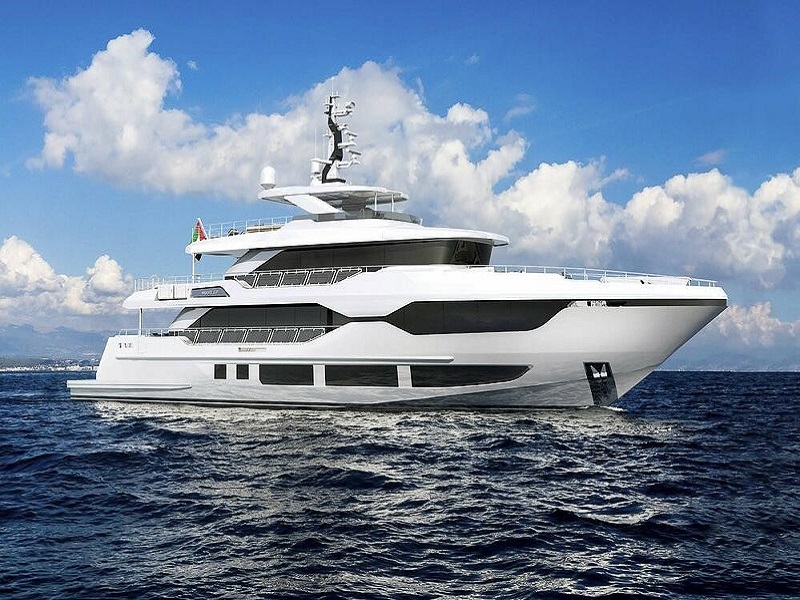 Gulf Craft Revealed 37M tri-deck Majesty 120 Superyacht News by Phoenician Boat