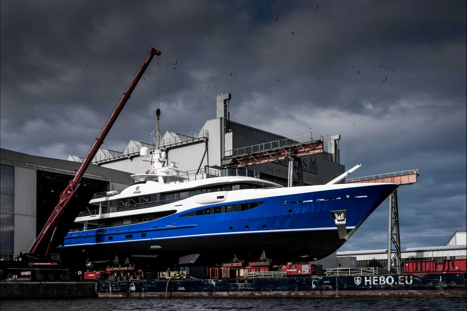 Amels Yacht Nomad 180