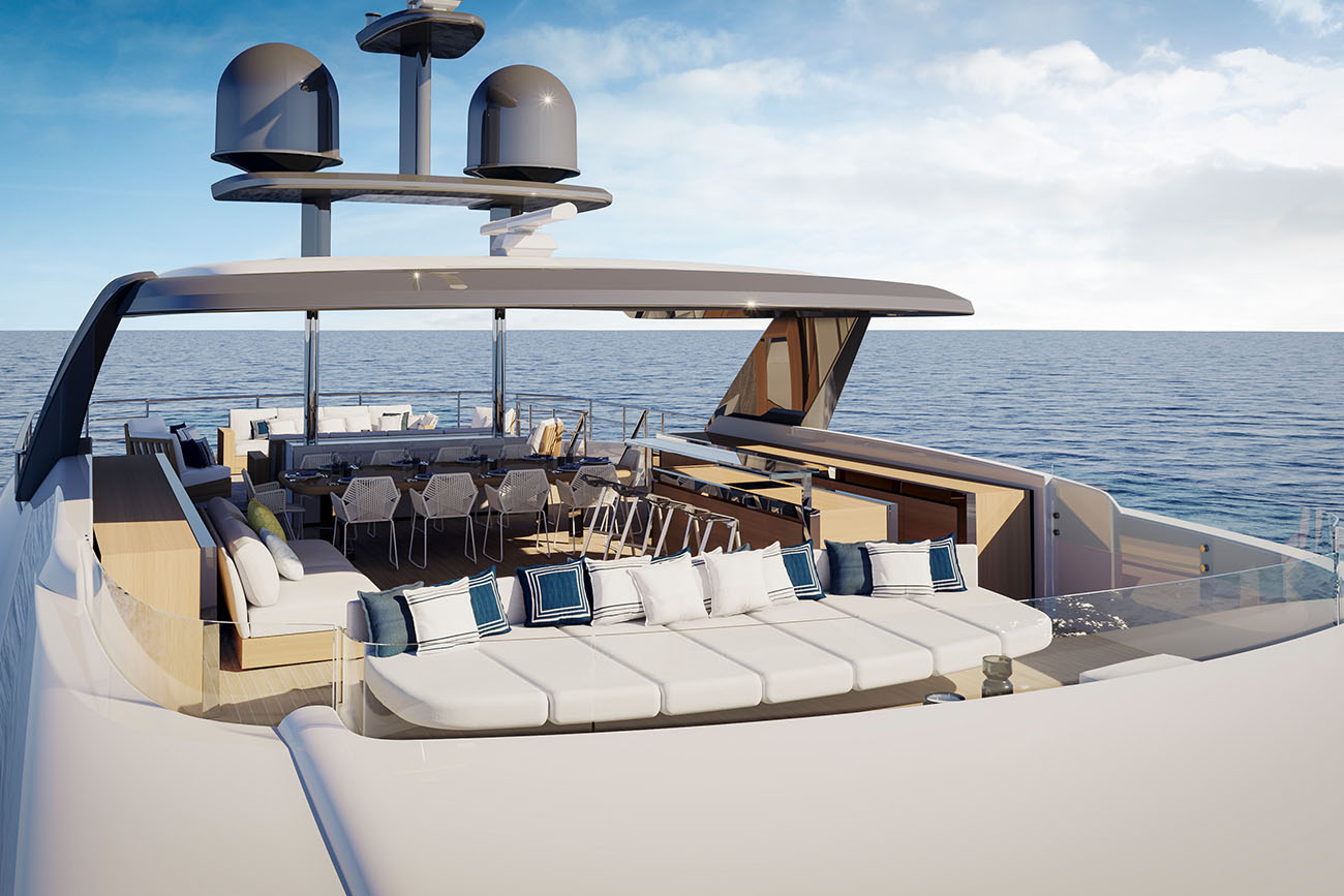 Benetti Yacht Diamond 145