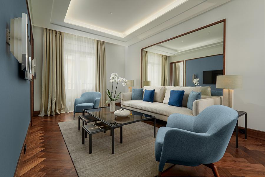 Phoenician Boat - Elena Living Room Mock up Suite