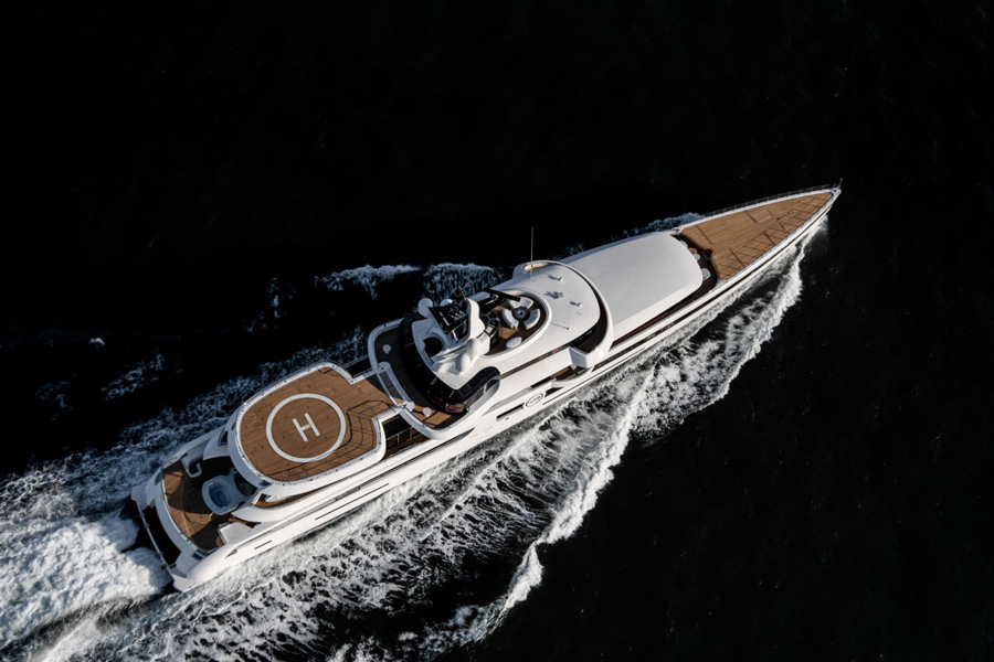 Feadship Yacht Lady S