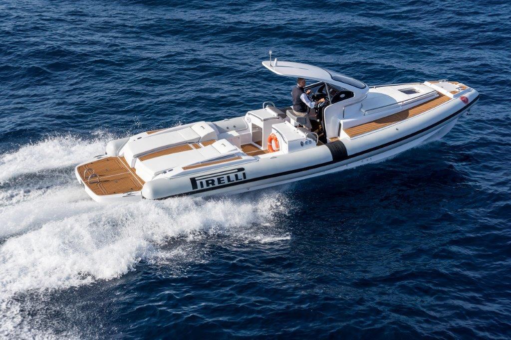 Phoenician Boat - Pirelli 1100