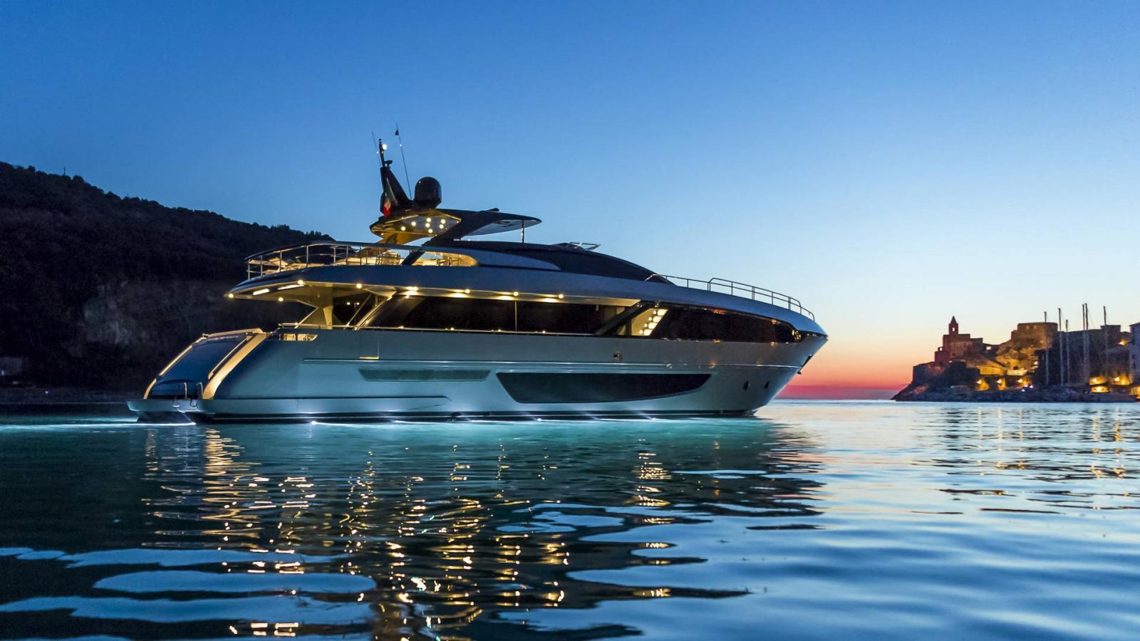 First Riva 100 Corsaro Yacht Delivered to Hong Kong