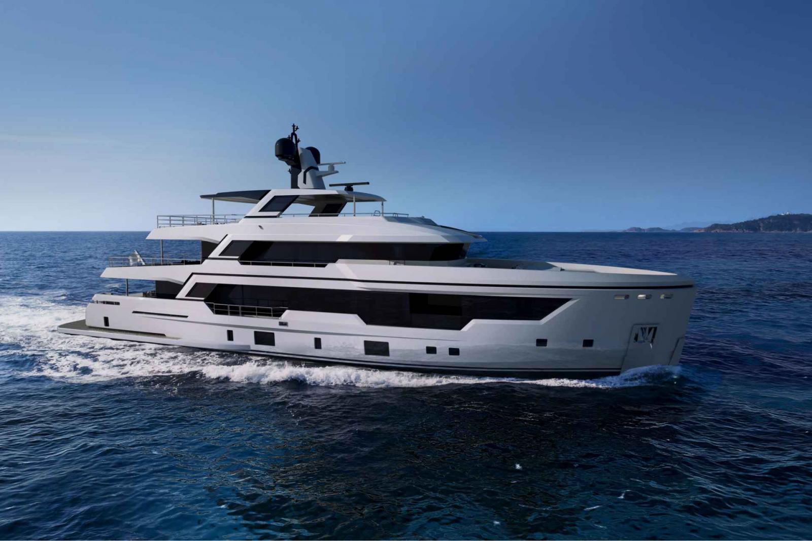Rosetti Superyacht 38M